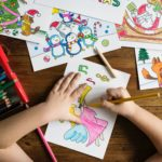 foto bambino che disegna per articolo diritto di famiglia